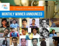 Aug Month Winner