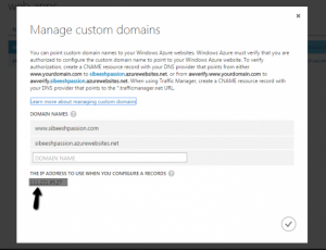 Custom Domain Pop Up