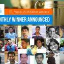 August Month Winner In C-Sharp Corner
