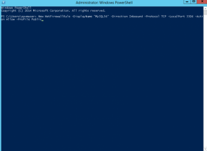 Setting firewall in azure virtual machine