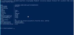 Setting firewall in azure virtual machine