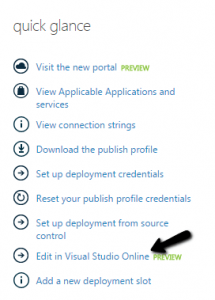 Changing the configuration to new settings in wordpress