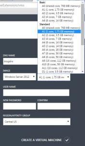 Create_Virtual_Machine_In_Azure