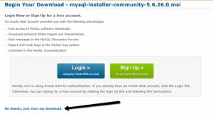Install MySQL in Azure Virtual Machine