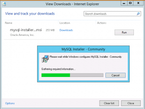 Install MySQL in Azure Virtual Machine