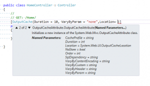 Caching In MVC