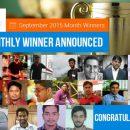 September 2015 Month Winner In C-SharpCorner