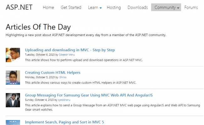 Uploading and downloading in MVC - Step by Step