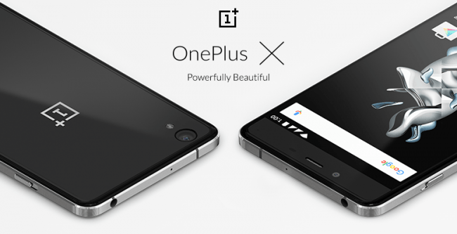 The OnePlus X has officially arrived