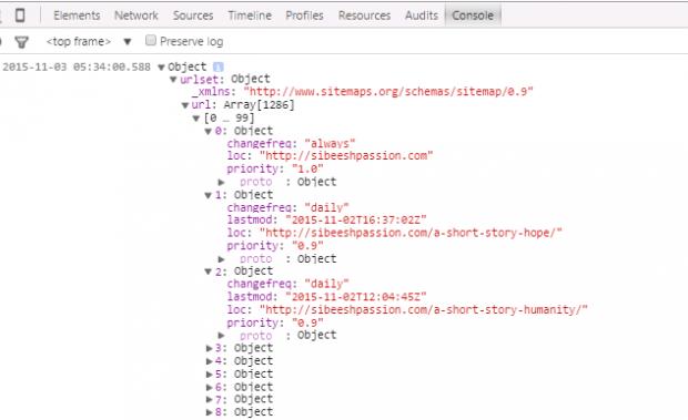 Convert XML To JSON In Angular JS