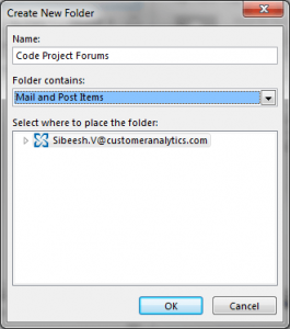 Move Mails from Inbox To Other Folder