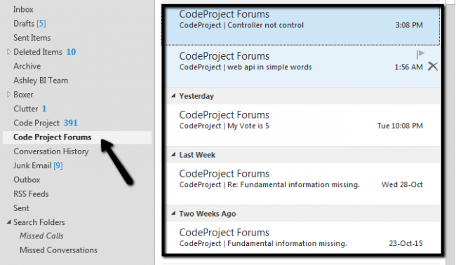 Validating rules in Outlook