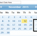 Disable Dates In Datepicker