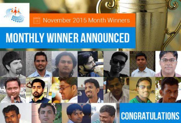 November Month Winner