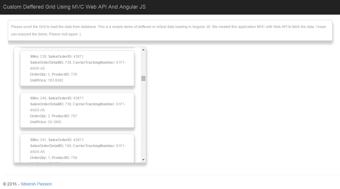 Custom Deferred Grid Using MVC Web API And AngularJS