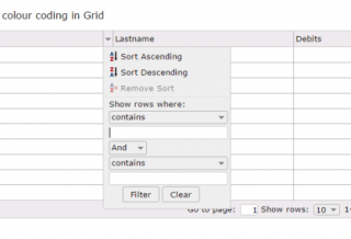 Dynamically apply colour coding in Grid