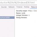 IndexedDB Creation