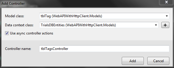 Web API Controller With Async Actions
