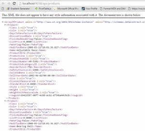 Web API Result