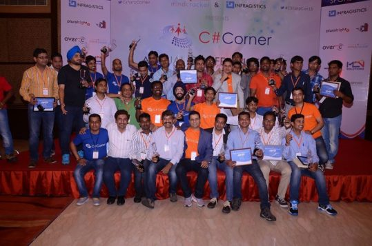 CSharp Corner Annual Meet 2015