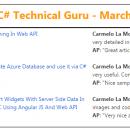 Visual C# Technical Guru - March 2016