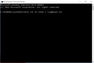 NetSH Commad Prompt