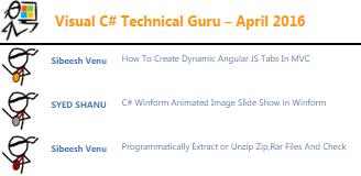 Visual Csharp Technet Guru Award
