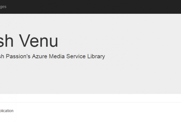 Upload Images To Azure Media Service Home Page