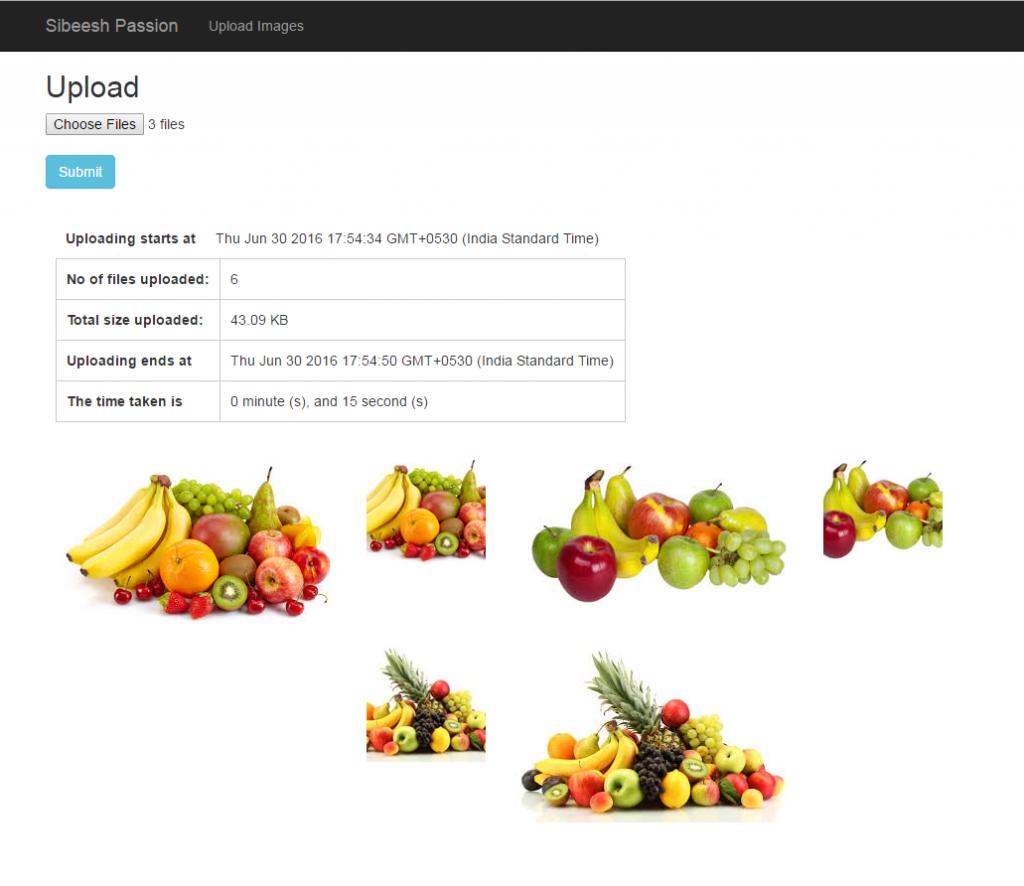 Upload Images To Azure Media Service Output Multiple
