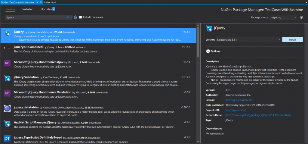 nuget_package_manager