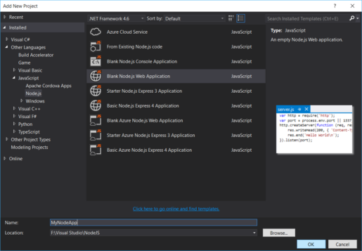 How to Run a Node.js Application on Windows | Webucator