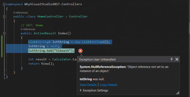 Exception_User_Handled_In_Visual_Studio_2017