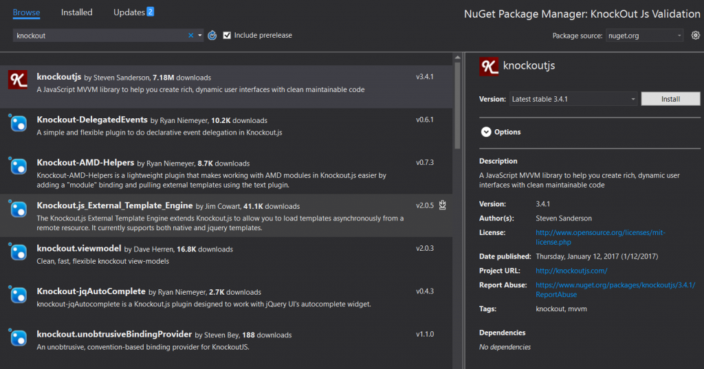 Installing_KnockOut_JS_from_NuGet