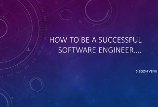 Video: How to be a successful software engineer