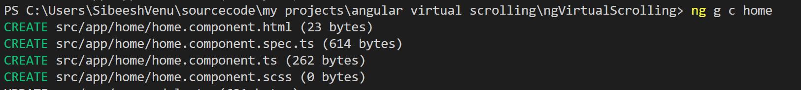 Angular Virtual Scrolling – ngVirtualScrolling   Sibeesh Passion